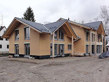 Bau Rohbau Wohnungen: Mehrfamilienhaus G'zell