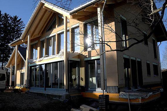 Bau Rohbau: Mehrfamilienhaus G'zell